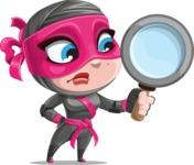 Cute Ninja Girl Cartoon Vector Character AKA Hiroka - Search