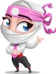 Matsuko The Businesswoman Ninja - Point 2