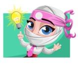 Matsuko The Businesswoman Ninja - Shape 4