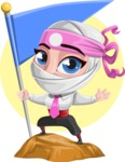 Matsuko The Businesswoman Ninja - Shape 7