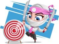 Matsuko The Businesswoman Ninja - Shape 9