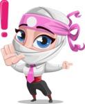 Matsuko The Businesswoman Ninja - Direct Attention 1