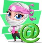 Matsuko The Businesswoman Ninja - Shape 10