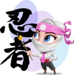 Matsuko The Businesswoman Ninja - Shape 11