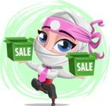 Matsuko The Businesswoman Ninja - Shape 12