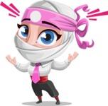 Matsuko The Businesswoman Ninja - Shocked