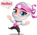 Matsuko The Businesswoman Ninja - Hello