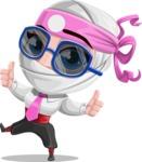 Matsuko The Businesswoman Ninja - Sunglasses