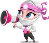 Matsuko The Businesswoman Ninja - Loudspeaker