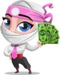 Matsuko The Businesswoman Ninja - Show me the Money