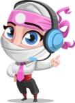 Matsuko The Businesswoman Ninja - Support