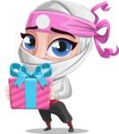 Matsuko The Businesswoman Ninja - Gift