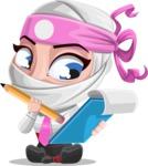 Matsuko The Businesswoman Ninja - Note 2