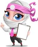 Matsuko The Businesswoman Ninja - Note 3