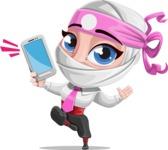 Matsuko The Businesswoman Ninja - Smartphone