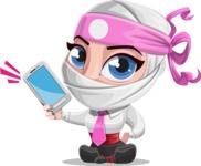 Matsuko The Businesswoman Ninja - Smartphone2