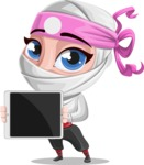 Matsuko The Businesswoman Ninja - Tablet 2