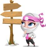 Matsuko The Businesswoman Ninja - Crossroads