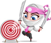 Matsuko The Businesswoman Ninja - Target