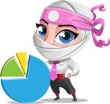 Matsuko The Businesswoman Ninja - Chart