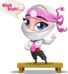 Matsuko The Businesswoman Ninja - Talking