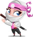 Matsuko The Businesswoman Ninja - Sneak Attack