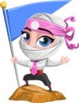 Matsuko The Businesswoman Ninja - On the Top