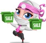 Matsuko The Businesswoman Ninja - Sale 1