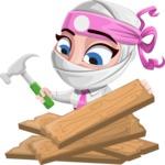 Matsuko The Businesswoman Ninja - Repair