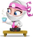 Matsuko The Businesswoman Ninja - Tea