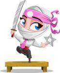 Matsuko The Businesswoman Ninja - Training