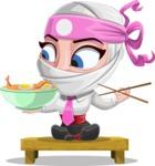 Matsuko The Businesswoman Ninja - Food 3