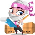 Matsuko The Businesswoman Ninja - Delivery 2