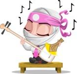 Matsuko The Businesswoman Ninja - Music