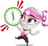 Matsuko The Businesswoman Ninja - Time is up