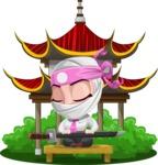Matsuko The Businesswoman Ninja - Temple