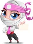 Matsuko The Businesswoman Ninja - Sign 1