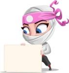 Matsuko The Businesswoman Ninja - Sign 3