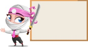 Matsuko The Businesswoman Ninja - Presentation 1