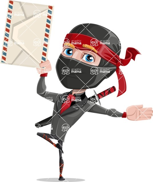 Daikoku the Businessman Ninja - Letter
