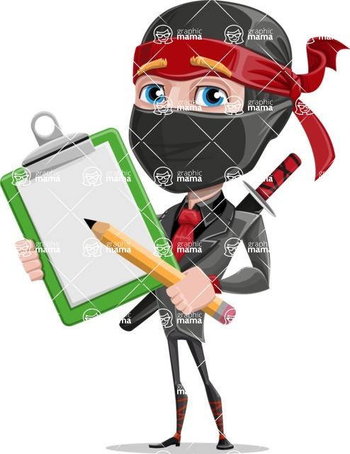 Daikoku the Businessman Ninja - Note 1
