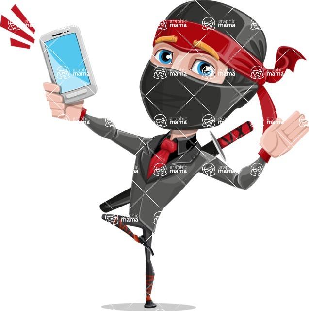 Daikoku the Businessman Ninja - Smartphone