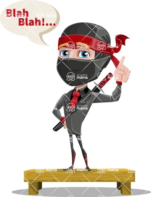 Daikoku the Businessman Ninja - Talking