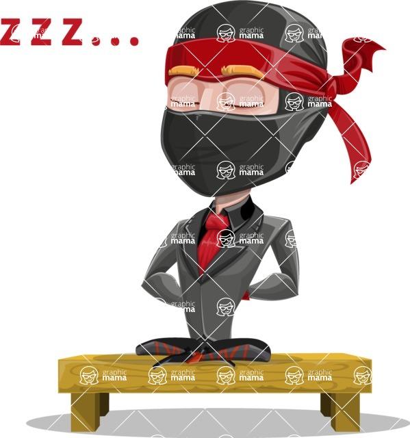 Daikoku the Businessman Ninja - Rest