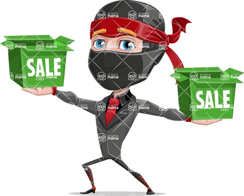 Daikoku the Businessman Ninja - Sale 1