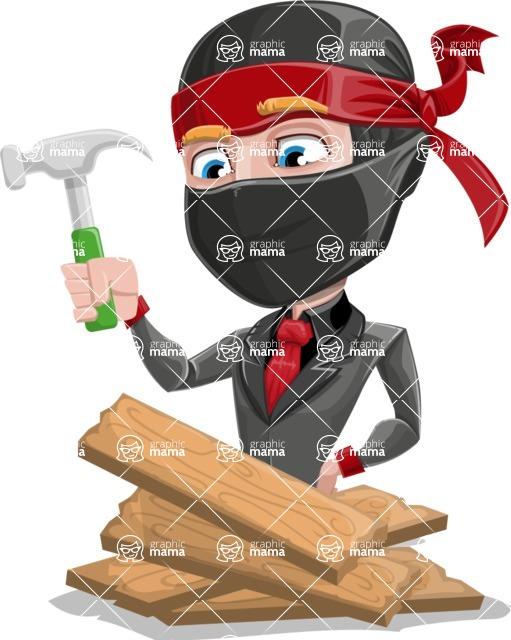 Daikoku the Businessman Ninja - Repair