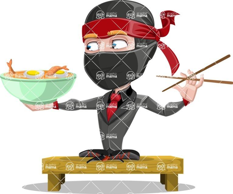 Daikoku the Businessman Ninja - Food 3
