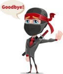 Daikoku the Businessman Ninja - Goodbye