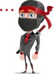 Daikoku the Businessman Ninja - Blank