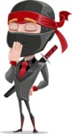 Daikoku the Businessman Ninja - Bored 2